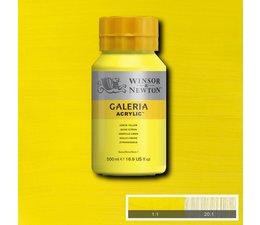 Winsor & Newton Galeria acrylverf 500ml 346 lemon yellow