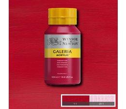 Winsor & Newton Galeria acrylverf 500ml 502 permanent rose