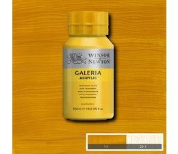 Winsor & Newton Galeria acrylverf 500ml 653 transparent yellow