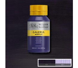 Winsor & Newton Galeria acrylverf 500ml 728 winsor violet
