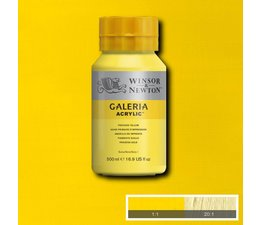 Winsor & Newton Galeria acrylverf 500ml 537 proces yellow