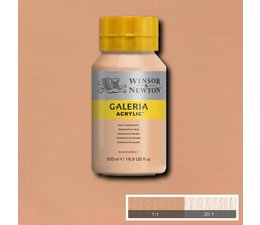 Winsor & Newton Galeria acrylverf 500ml 437 pale terracotta