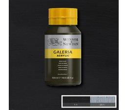 Winsor & Newton Galeria acrylverf 500ml 386 mars black