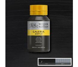 Winsor & Newton Galeria acrylverf 500ml 337 lamp black