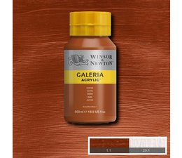 Winsor & Newton Galeria acrylverf 500ml 214 copper