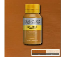 Winsor & Newton Galeria acrylverf 500ml 553 raw sienna opaque