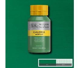Winsor & Newton Galeria acrylverf 500ml 484 permanent green middle