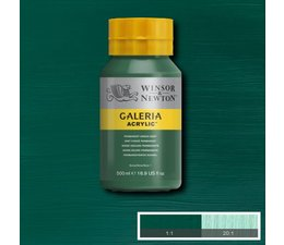 Winsor & Newton Galeria acrylverf 500ml 482 permanent green deep