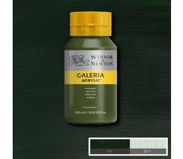 Winsor & Newton Galeria acrylverf 500ml 447 olive green