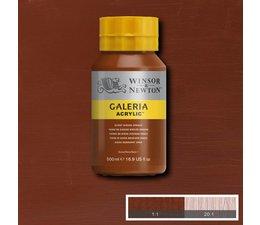 Winsor & Newton Galeria acrylverf 500ml 077 burnt sienna opaque