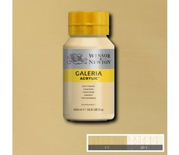 Winsor & Newton Galeria acrylverf 500ml 060 buff titanium