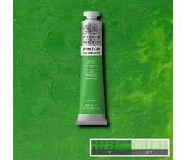 Winsor & Newton Winton olieverf 200ml 483 permanent green light
