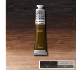Winsor & Newton Winton olieverf 200ml 675 Van Dyke brown