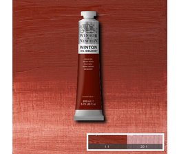 Winsor & Newton Winton olieverf 200ml 317 indian red