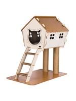 Pati Homes Kattenhuis XL met trap en ramen