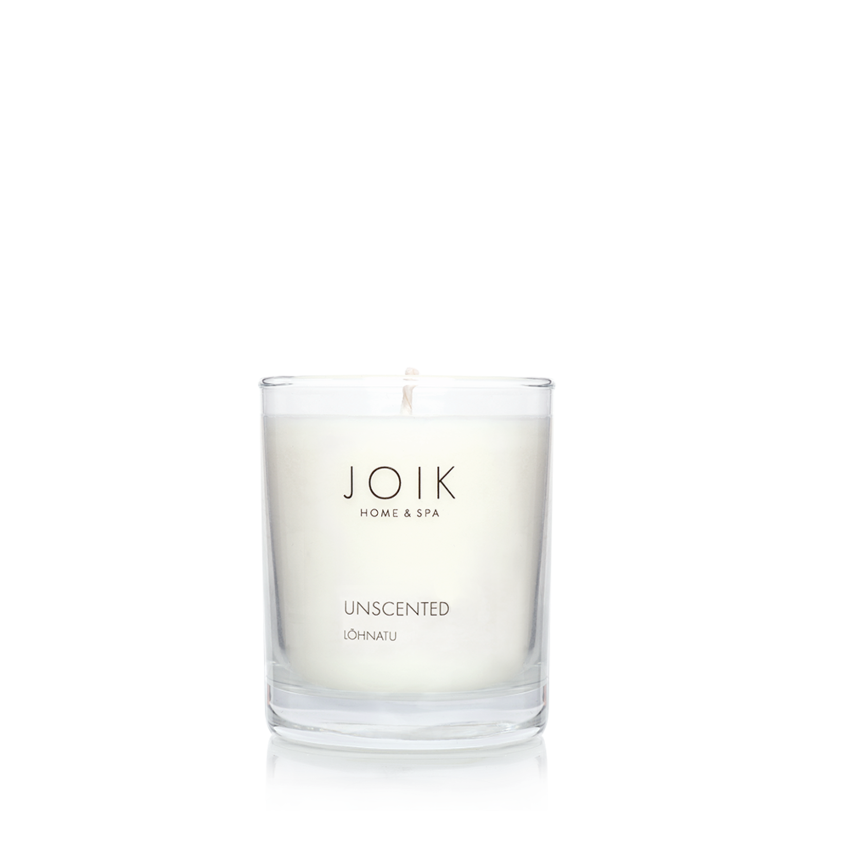JOIK Vegan Soywax Candle Unscented