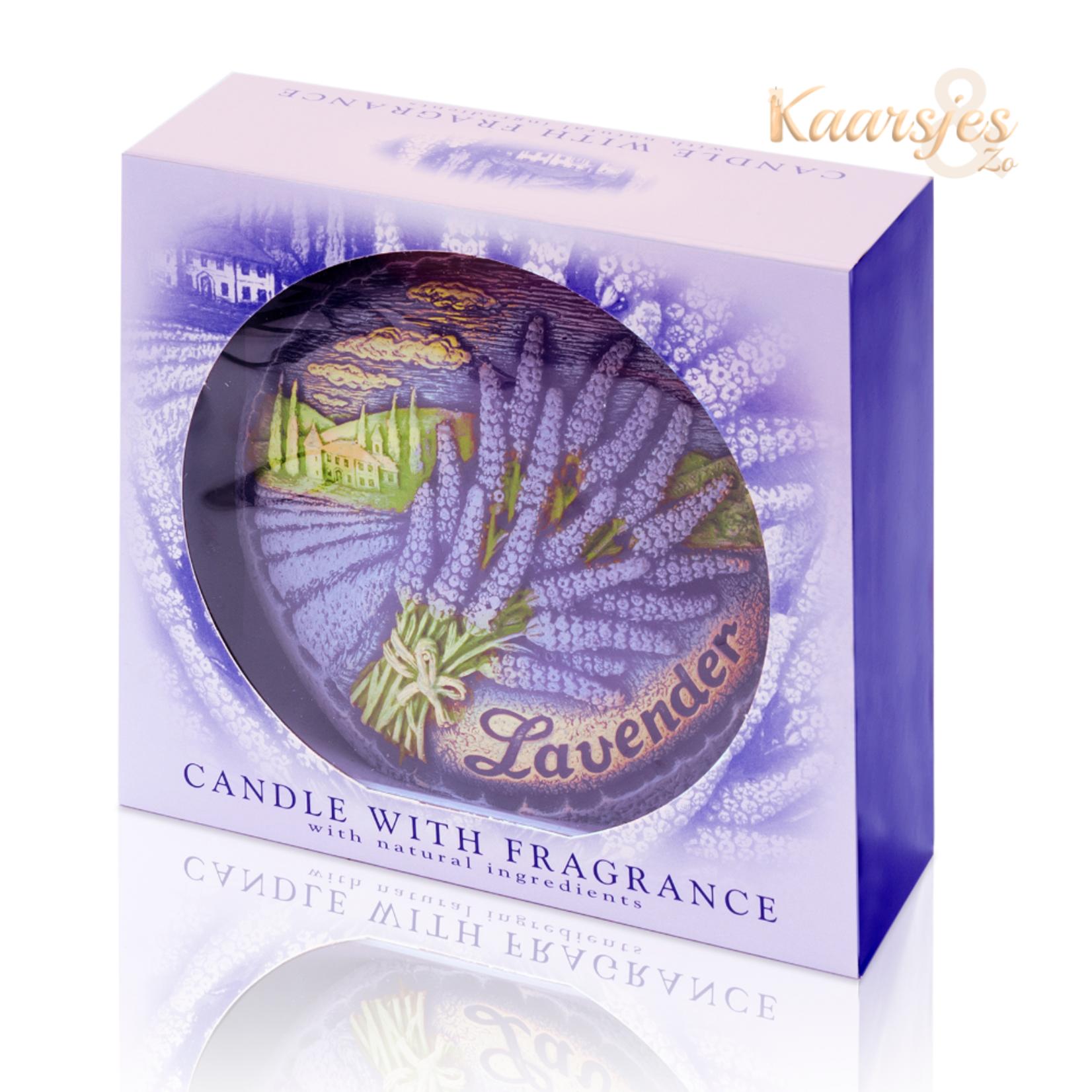 Geurkaars Aromatic Lavendel Disc