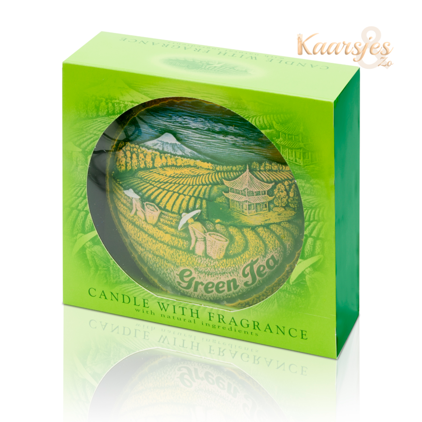 Geurkaars Aromatic Groene Thee Disc