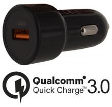 Mobilize Smart Car Charger Single USB 20W Qualcomm QC3.0 Black