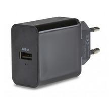 Mobilize Smart Travel Charger Single USB 2.4A 12W Black