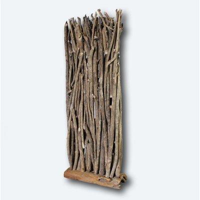 Paravent aus Treibholz
