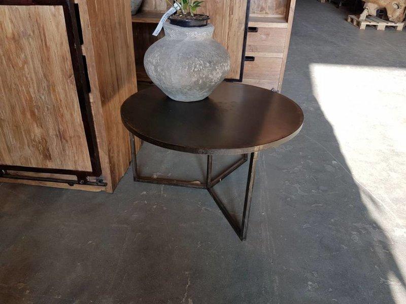 Industrial Tisch Iron Rund