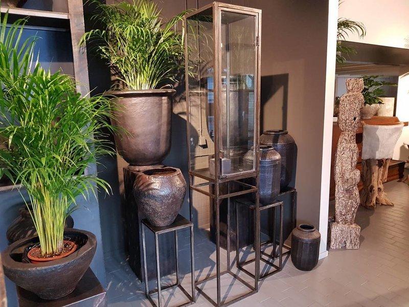 Industrial Display mit Glas