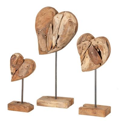 Stand - Herz Papan (satz von drei)