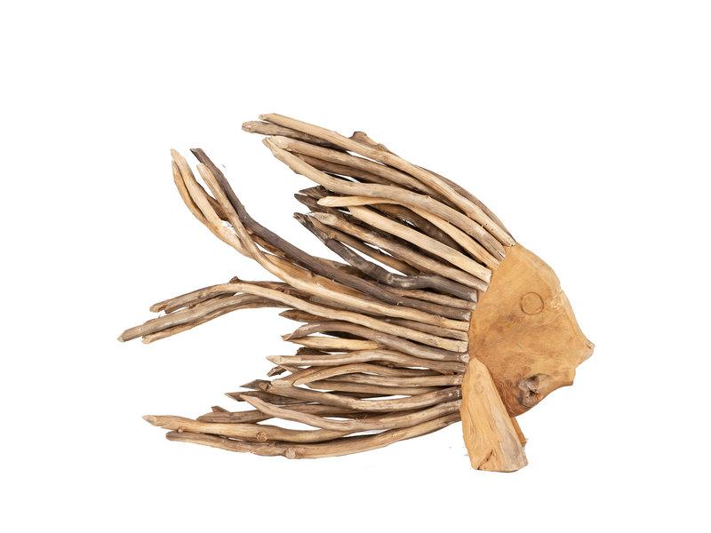 Fisch Yon Teakholz