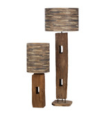 Holz Lampe Sapi