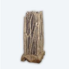 Saüle aus Treibholz