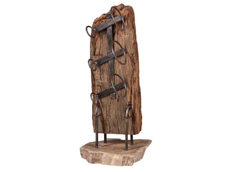 Weinregal Java Holz XS