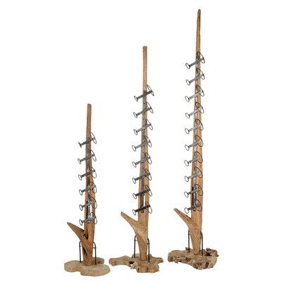 Holz Weinregal Luku