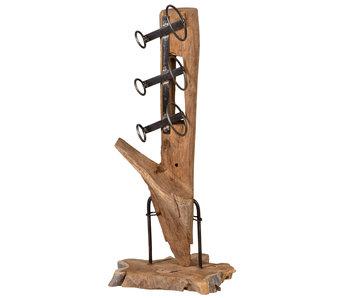 Holz Weinregal Luku XS