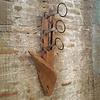 Holz Weinregal Luku Wand