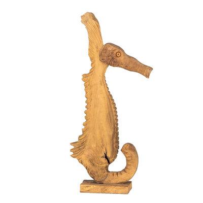Seepferdchen Semar Teakholz