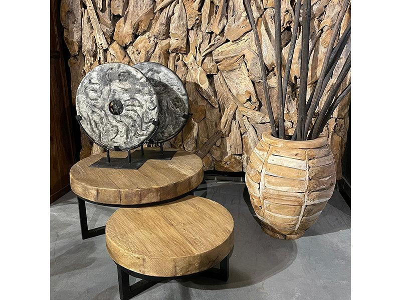 Balok - Holz Couchtisch Sara (2 -teiliger satz)