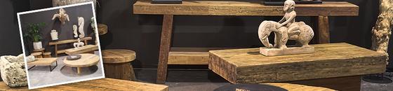Javaholz Möbel