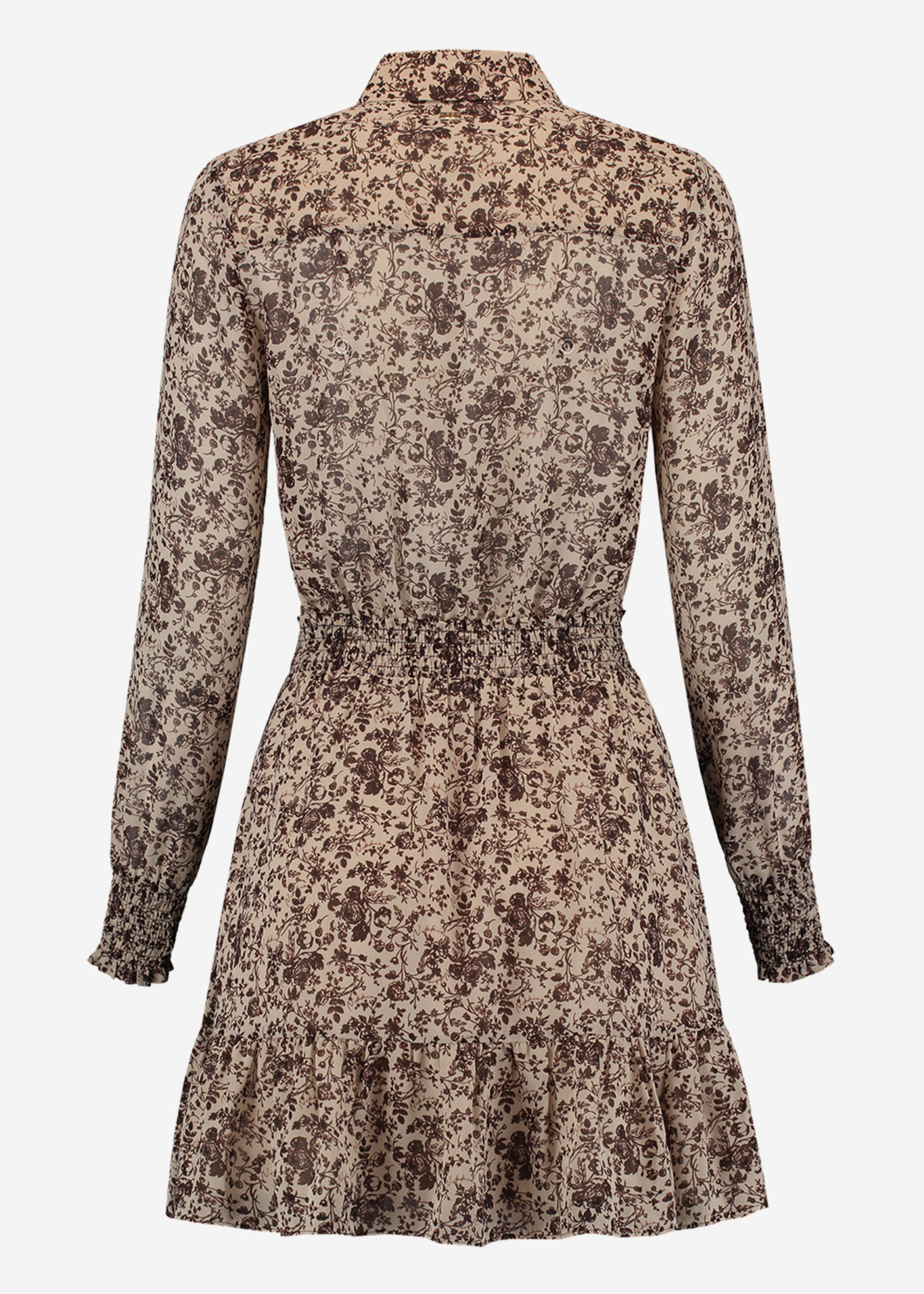 NIKKIE FLOWER DUSTY DRESS jurk met bloemenprint