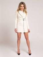 NIKKIE LEXI DRESS Mouwloze tweed jurk