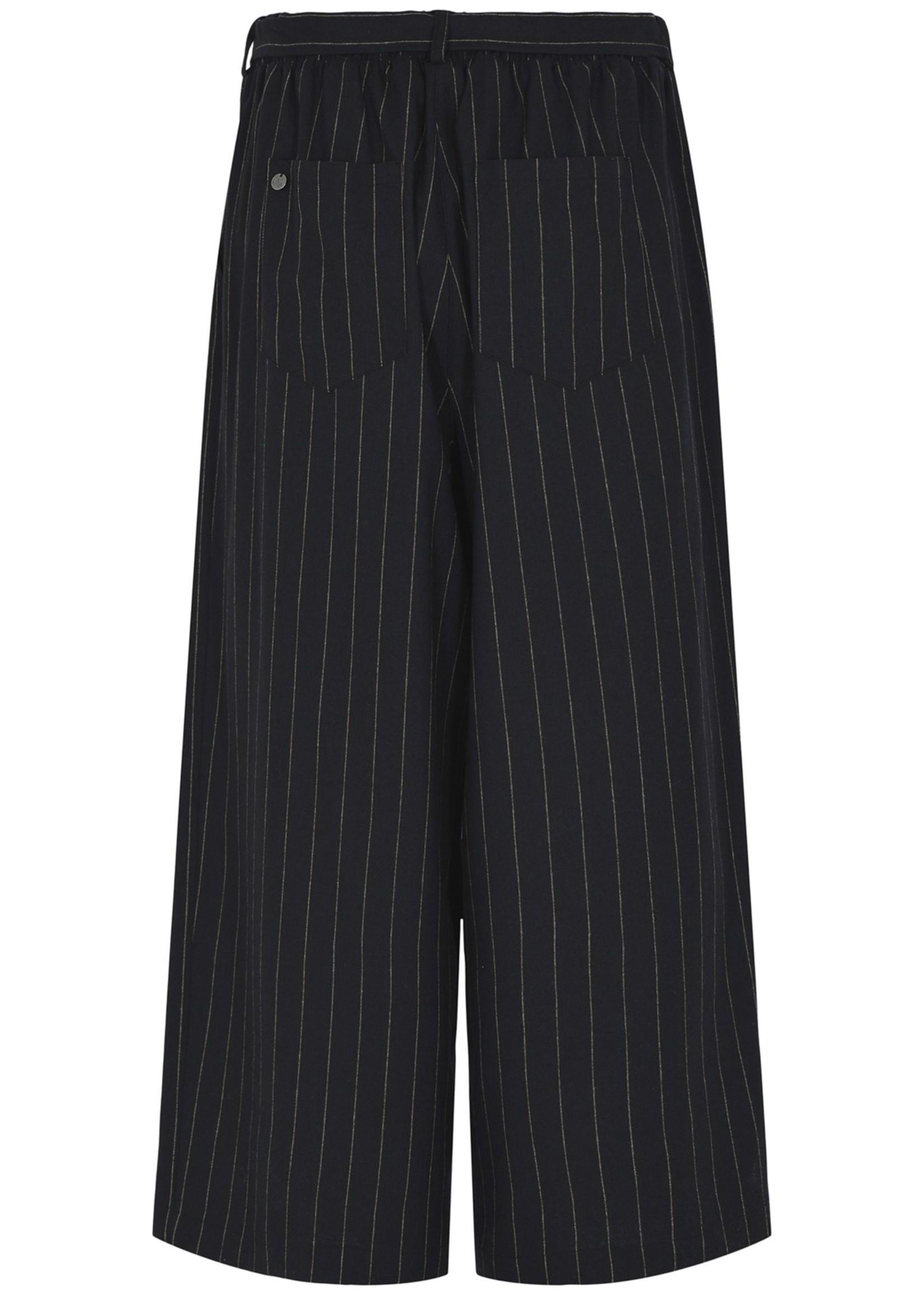 QUE Que broek met verticale strepen