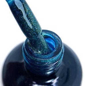 Seductionail SN132 Blue/green sparkling cat eye