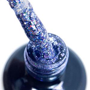 Seductionail SN165 Blue glitter party