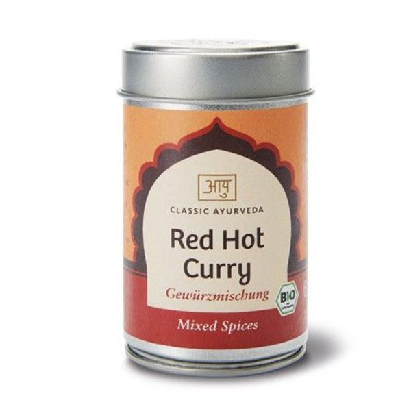 Ayurveda Red Hot Curry, Bio 60g