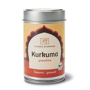 Curcuma gemahlen 70g im Streuer,Bio