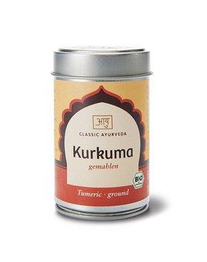 Ayurveda Kurkuma gemahlen 50g im Streuer, Bio