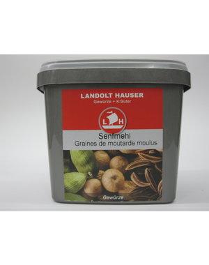 Landolt Hauser AG Senfpulver/ Senfmehl gelb 450g in der LH Box