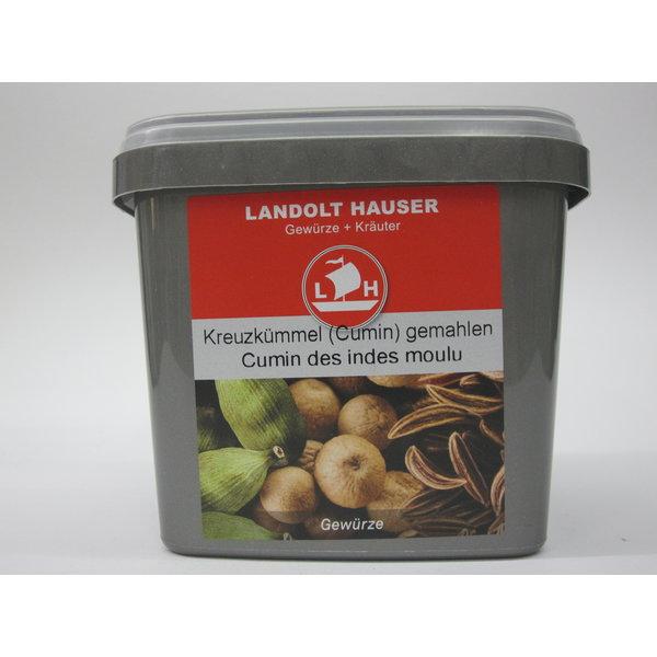 Landolt Hauser AG Kreuzkümmel gemahlen 450g in der LH Box