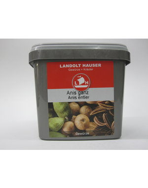 Landolt Hauser AG Anis ganz gereinigt 500g in der LH Box