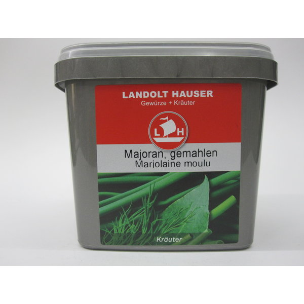 Landolt Hauser AG Majoran gemahlen 250g in der LH Box